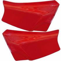 Tampa Lateral - Honda Xl 125 Cor Vermelho Sem Adesivo O Par