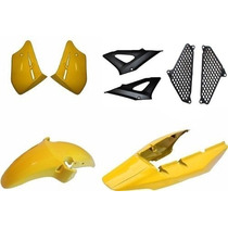 Kit Carenagem Completo Cbx 250 Twister Amarelo 2008