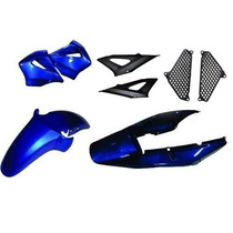 Kit Carenagem Completo Cbx 250 Twister Azul 2001/2002