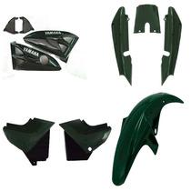 Kit Completo Carenagem Ybr 125 Ano 2006 2007 - Verde