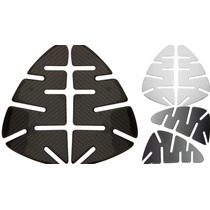 Kit Protetor Lateral Tanque Knee Pads Suzuki Hayabusa