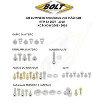 Kit Parafusos Dos Plásticos Ktm Sx 07 - 10 Xc & Xc-w 08 - 10