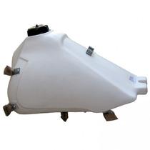 Tanque Plástico Para Xtz 125- 10,5 Lts Branco / Gilimoto