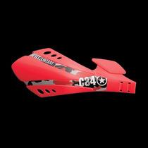Protetor De Mão Sx Circuit Vermelho Freio A Disco