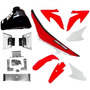 Kit Roupa Crf230 P/ Nx Xr 200 250 Tanque Banco Adaptação