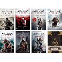 Kit Assassin Creed + Barba Negra Diário Perdido (8 Livros) #