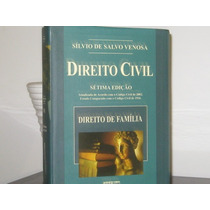 Direito Civil Volume 6 Sílvio Salvo Venosa 7ª Edição