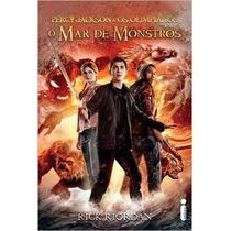 Livro O Mar De Monstros - Percy Jackson E Os Olimpianos