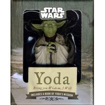 Livro E Estátua Star Wars Yoda Bringt You Wisdow , I Will