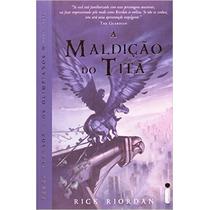 Livro A Maldição Do Titã - Percy Jackson E Os Olimpianos
