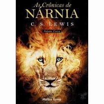 Livro As Crônicas De Nárnia C. S. Lewis