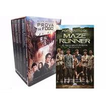 Box Maze Runner Coleção Completa 5 Livros + 1 Guia + Poster