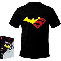 Box Livro Wayne De Gotham E Os Últimos Dias De Krypton + Cam