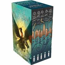 Box Percy Jackson E Os Olimpianos (5 Livros) - Frete Grátis