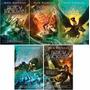 Coleção Percy Jackson E Os Olimpianos 5 Livros- Frete Grátis