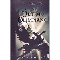 Livro O Último Olimpiano - Percy Jackson E Os Olimpianos