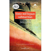 Livro Vinte Mil Léguas Submarinas De Julio Verne - Novo