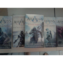 Assassins Creed Lote De 5 Livros