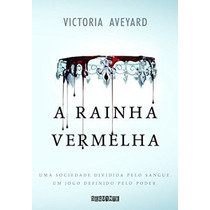 Livro A Rainha Vermelha - Victoria Aveyard - Novo - Lacrado