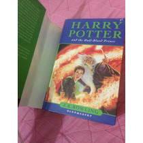 Livro Harry Potter And The Half-blood Prince (capa Dura)