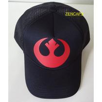 Boné Star Wars Aliança Rebelde Trucker Cap