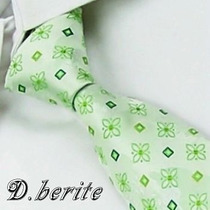 Gravata Seda Estampa Miuda Verde Feita Mão Gvt 682 8cm