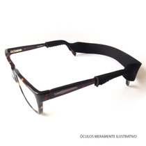 Cordão Para Óculos - Neoprene Preto - Frete Fixo