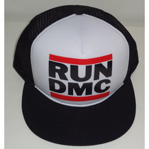 Bone Trucker Tela Aba Reta Run Dmc Clássico Oldschool
