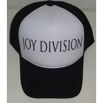 Boné Trucker Cap Tela Joy Division Ian Curtis Bandas Rock
