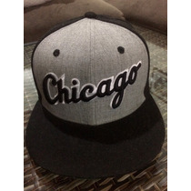 Boné Snapback New Era Aba Reta White Sox Chicago Beisebol