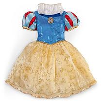Fantasia Princesas Disney Branca De Neve 5/6, 7/8 E 10