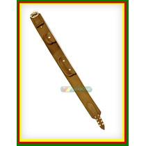 T=120cm Guaiaca Gaucha Em Couro Fivela Inox (cinto Rodeio)