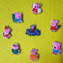Peppa Pig - Jibbitz Para Crocs - 8 Unidades- Pronta Entrega!
