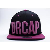 Boné Snapback Drcap Pink Flúor Coleção 2015 Pronta Entrega