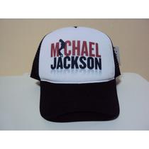 Boné Trucker Michael Jackson Snapback Frete Grátis
