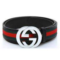 Cinto Gucci Couro - Várias Cores - Pronta Entrega