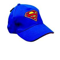 Boné Super Man Super Homem Para Crianças Menos De 10 Anos