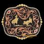 Fivela Montana Silversmiths Importada Laço Em Dupla Pé 15635