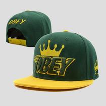 Boné Aba Reta Obey Snapback Verde E Amarelo No Brasil