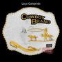 Fivela C/ Banho Dourado E Prata - Cowboy Brand