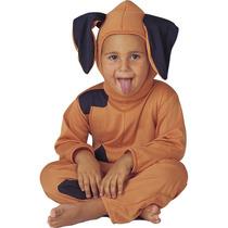 Fantasia Cachorro Infantil Animal Completa Com Capuz