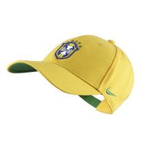 Boné Nike Seleção Brasileira Cbf Core Amarelo