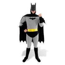 Fantasia Batman Luxo Adulto Completo Clássico Sulamericana