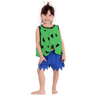 Fantasia Pedrita Infantil Flintstones C/ Acessório De Cabeça