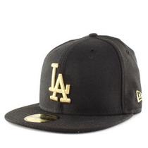 Boné Aba Reta La Dodgers Black/gold - Size 7 1/4 (57.7cm) M
