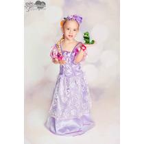 Fantasia Princesa Rapunzel Premium