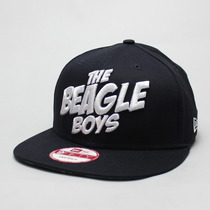 Boné The Beagle Boys Azul Marinho 50 Cent Snapback Aba Reta