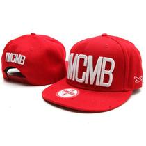 Boné Vermelho Snapback Ymcmb - Pronta Entrega No Brasil