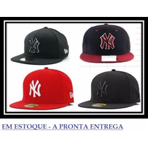 Boné Ny Yankees Aba Reta New Era 59 Fifty - Fechados