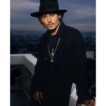 Chapéu Johnny Depp - Fedora Aba Longa - Excelente Qualidade!
